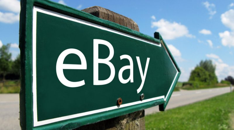 eBay Road Sign Green