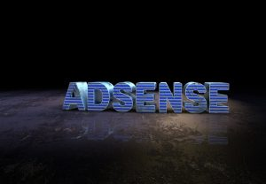 adsense blue text