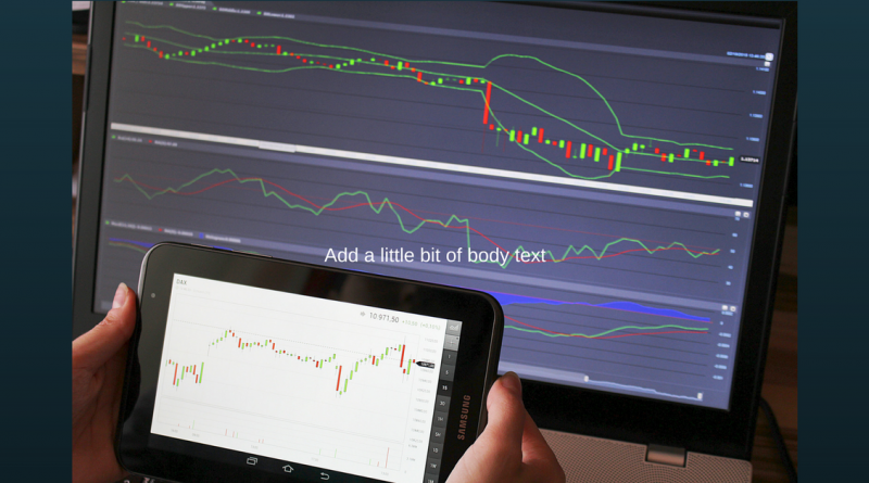trading on computer and tablet